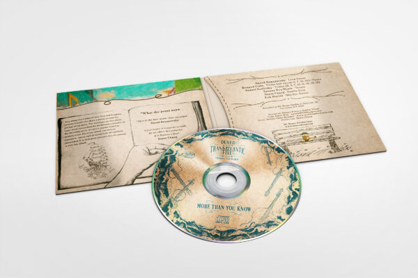 Duved album - 4 Panel CD Sleeve Mockup 3 world